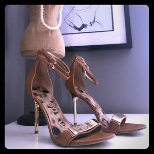 "Sam Edelman Shoes - Sam Edelman Size 8 ""Allie"" leather heels"